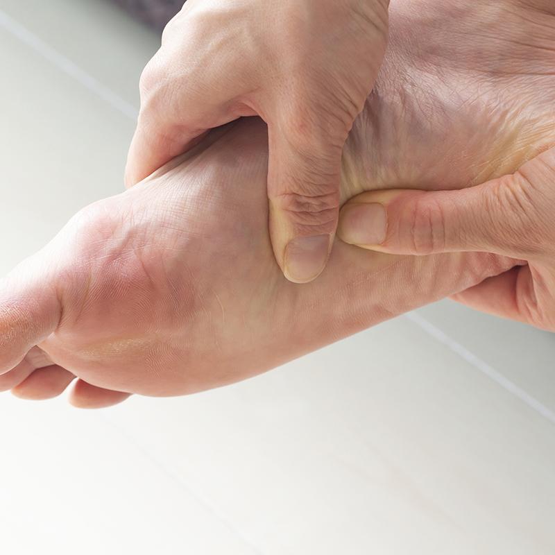 足の痛み防止